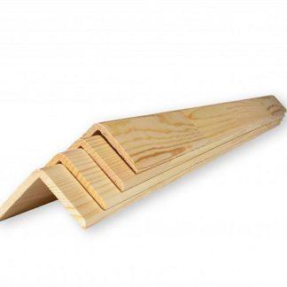 Уголок наружный деревянный