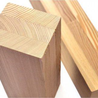 Брус клееный, столб деревянный