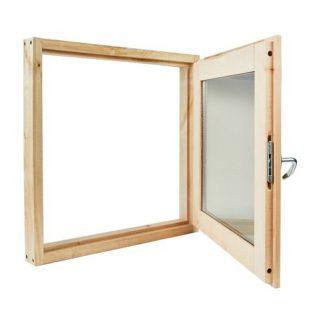 Окно банное липа